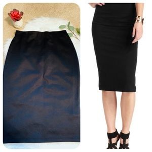 Apt 9 pencil stretch scuba skirt